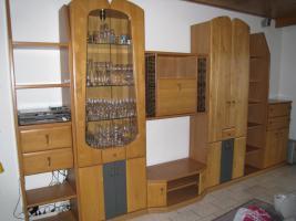 Toller und schöner Wohnzimmerschrank Echtholz