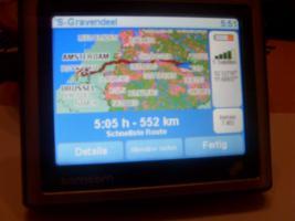Foto 3 Tom Tom ONE mit neuester Software u. Instalierte Radarkammeras