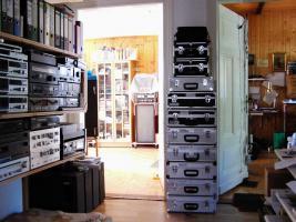 Foto 4 Tonbandmaschinen 80 Stück, Tonbänder hunderte