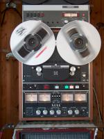 Foto 6 Tonbandmaschinen 80 Stück, Tonbänder hunderte