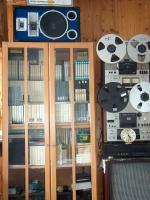 Foto 7 Tonbandmaschinen 80 Stück, Tonbänder hunderte