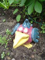 Foto 4 Tonfigur Keramikfigur Vogel Gartendeko Geschenk
