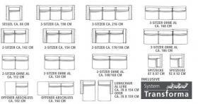 Foto 13 Top! 1a grosse luxuriöse Alcantara Wohnzimmer Garnitur für 6 - 7 Personen