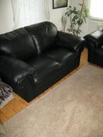 Foto 3 Top Couchgarnitur aus echtem Leder