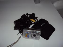 Foto 3 Top Sony Cyber-shot DSC-W50 im super Zustand