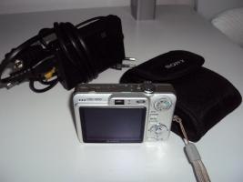 Foto 4 Top Sony Cyber-shot DSC-W50 im super Zustand