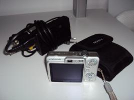 Foto 5 Top Sony Cyber-shot DSC-W50 im super Zustand
