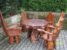 Topolya Gartenmöbel , 1 Tisch , 4 Stühle