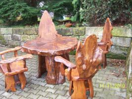 Foto 2 Topolya Gartenmöbel , 1 Tisch , 4 Stühle