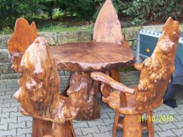 Foto 3 Topolya Gartenmöbel , 1 Tisch , 4 Stühle