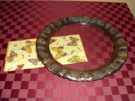 Tortenplatte mit Silbernen Rand