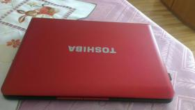 Toshiba NB510-115 10,1 Zoll Sub-Netbook, Intel Atom 1,6GHz, 320GB HDD, Win 7 Starter, Metallicrot