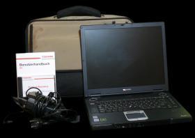 Toshiba Tecra S3 15``1,5GB RAM 60GB Speicherplatz CD-RW/DVD Windows XP + Tasche + KFZ-Ladegerät