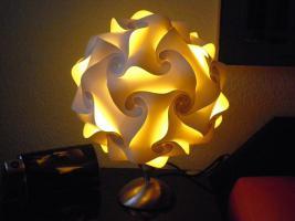 Foto 2 Touch Tischlampe Tischleuchte Größe M inkl.farbige Energiesparlampe