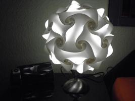 Foto 3 Touch Tischlampe Tischleuchte Größe M inkl.farbige Energiesparlampe