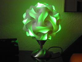Foto 4 Touch Tischlampe Tischleuchte Größe M inkl.farbige Energiesparlampe