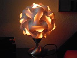Foto 5 Touch Tischlampe Tischleuchte Größe M inkl.farbige Energiesparlampe