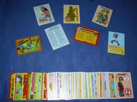 Trading-Cards Simpsons aus Amerika