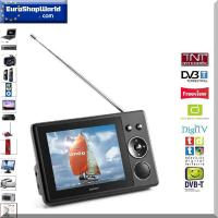 Tragbarer LCD-Fernseher TFT-370 - DVB-T-Tuner