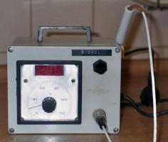 Tragbarer Stichthermometer für Backofen