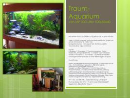 Traum-Aquarium von MP, 200 Liter, 100x50x40