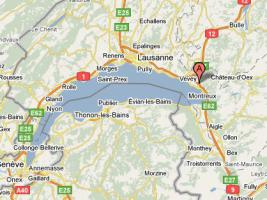 Foto 2 Traum Bauland in Montreux Schweiz