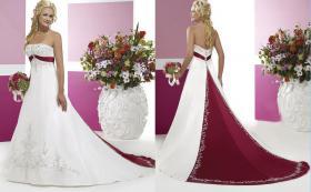 Traum Hochzeitskleid, Brautkleid Gr.40 mit Schleppe und Reifrock