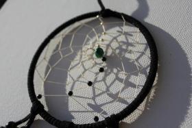 Foto 2 Traumfänger als Weihnachtsgeschenk - Sternzeichen Steinbock mit Malachit