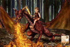 Foto 5 Traumhaft schöne Drachen- und Feenbilder