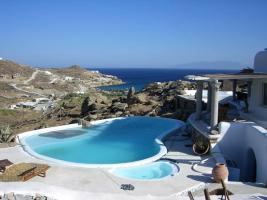 Traumhafte Neubau-Doppelvilla auf Mykonos / Griechenland