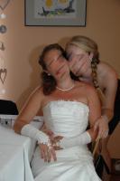 Foto 2 Traumhaftes Brautkleid in Creme g�nstig zu verkaufen