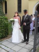 Foto 3 Traumhaftes Brautkleid in Creme g�nstig zu verkaufen