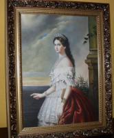 Traumhaftes Ölgemälde Kaiserin Elisabeth ( Sissi )