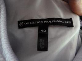Foto 4 Traumhaftes langes Abendkleid Seide Schulterschmuck Gr. 40 NEU