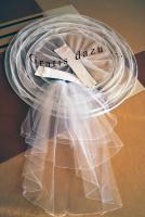 Foto 4 Traumhochzeitskleid mit Reifrock, neuem Schleier und neuen Handschuhen