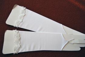 Foto 5 Traumhochzeitskleid mit Reifrock, neuem Schleier und neuen Handschuhen