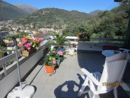 Traumsicht Attika-Wohnung in Lugano/Tessin