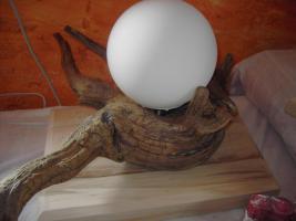 Foto 3 Treibholz-Lampen, verschiedene Designs