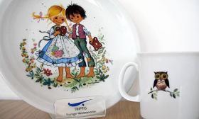 Triptis Kindergeschirr Geschenkset 3-tlg Motiv: Hänsel und Gretel