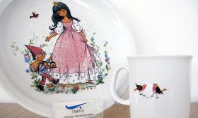 Triptis Kindergeschirr Geschenkset 3-tlg Motiv: Schneewittchen
