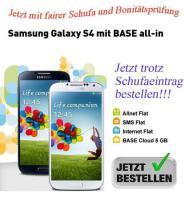 Trotz Schufa, Samsung GALAXY S4 1€