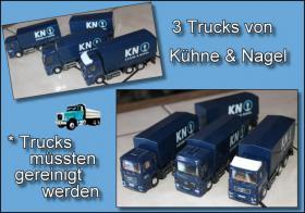 Trucks von Kühne & Nagel