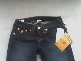True Religion Jeans Modell Billy Gr. 26 Farbe: Lonestar Neu u Original