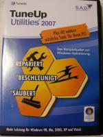 Foto 2 TuneUp Utilitis 2009/ 2008/ 2007 -intelligente Optimierung für Windows