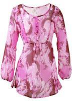 Tunika Bluse pink 38, 40, 42