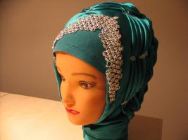 Turban Türban  Hijab Style für Hochzeit Polterabend Verlobung und andere Feste, Tesettür topuz stuttgart, tesettür gelin basi Stuttgart, Ludwigsburg, Heilbronn, Böblingen, Pforzheim