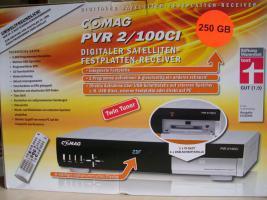 Twin Tuner Satelliten Receiver COMAG PVR 2/100
