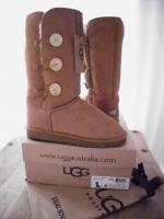 UGG Australia Boots Bailey Button Triplet, Chestnut, Gr. 9/40