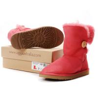 Foto 4 UGG Australien Damen Stiefel Bailey Button Boots Red Schuhe