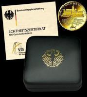 UNESCO Weltkulturerbe Wartburg 100 Euro Goldmünze